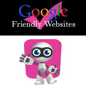 Websites created with search engines in mind
